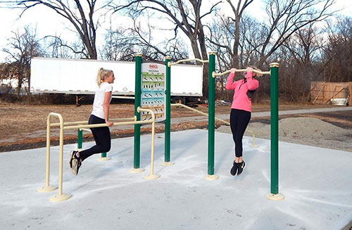 Bear Creek Trail - Outdoor Fitness Equipment - Hannibal, MO
