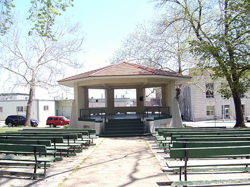 Central Park Bandstand Photo