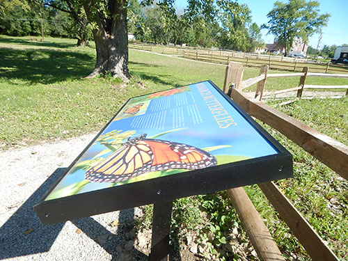 Dulany Park - Butterfly Sign - Hannibal, MO