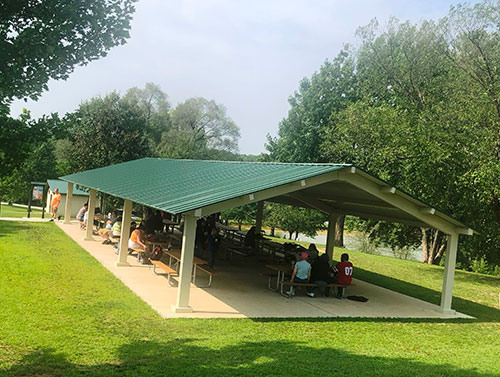 Huckleberry Park Shelter 1 (Next to Playground) Photo