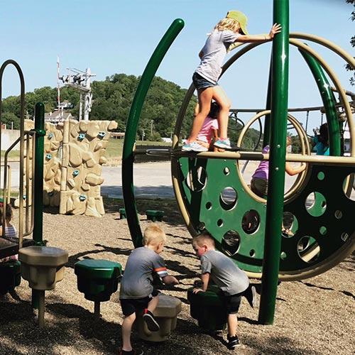 Kiwanis Park Kids Playground - Hannibal, MO