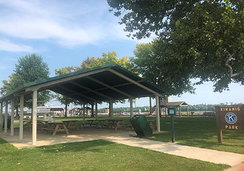 Kiwanis Park Shelter Photo