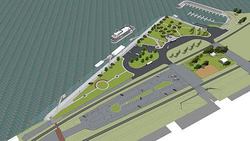 Nipper Park Riverfront - Rendering