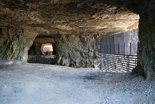 Sodalis Nature Preserve - Inside of Cave - Hannibal, MO