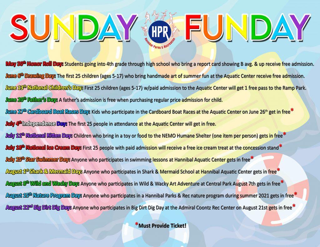 2021 Sunday Funday