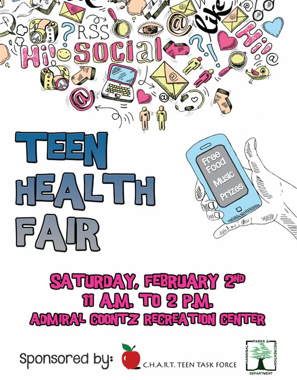 Chart Teen Health Fair - Hannibal Parks