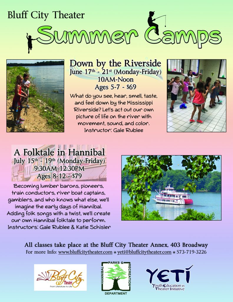 2019 Summer Camps