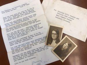 Jurgens Letter