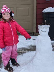 Gwen Overfield Snowman