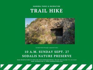 Sept 20 Trail Hike