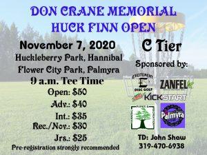 Don Crane Memorial 2020