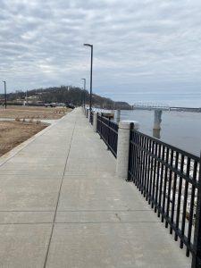 Riverfront Sidewalk