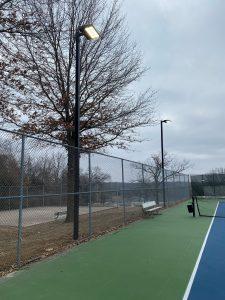 HB Tennis Court Lights