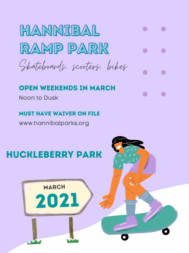Ramp Park March hours
